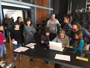 Mercat del Film, taller d'improvisacions mòbils